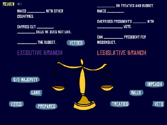 Checks and Balances GameUp BrainPOP – Checks and Balances Worksheet