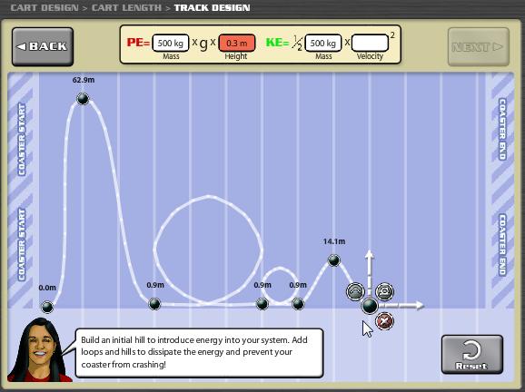 Build A Roller Coaster Games Brainpop